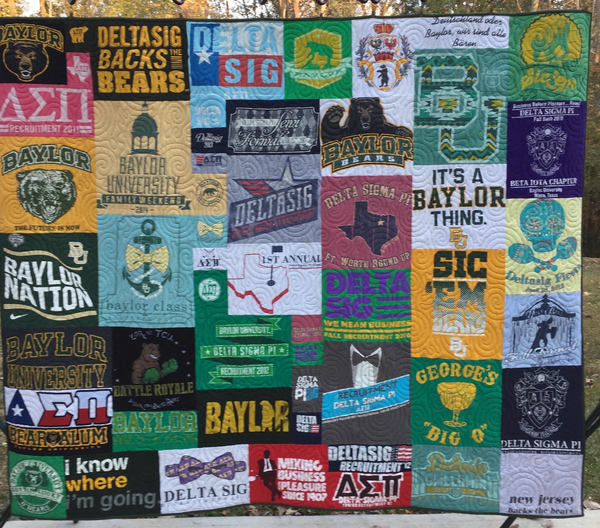 Why choose us to make your t-shirt quilt?
