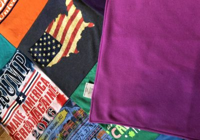 Project Repat t-shirt quilt compared to EggMoneyQuilts T-shirt Quilt