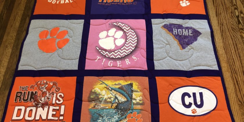 Campus Quilt compared to  EggMoneyQuilts