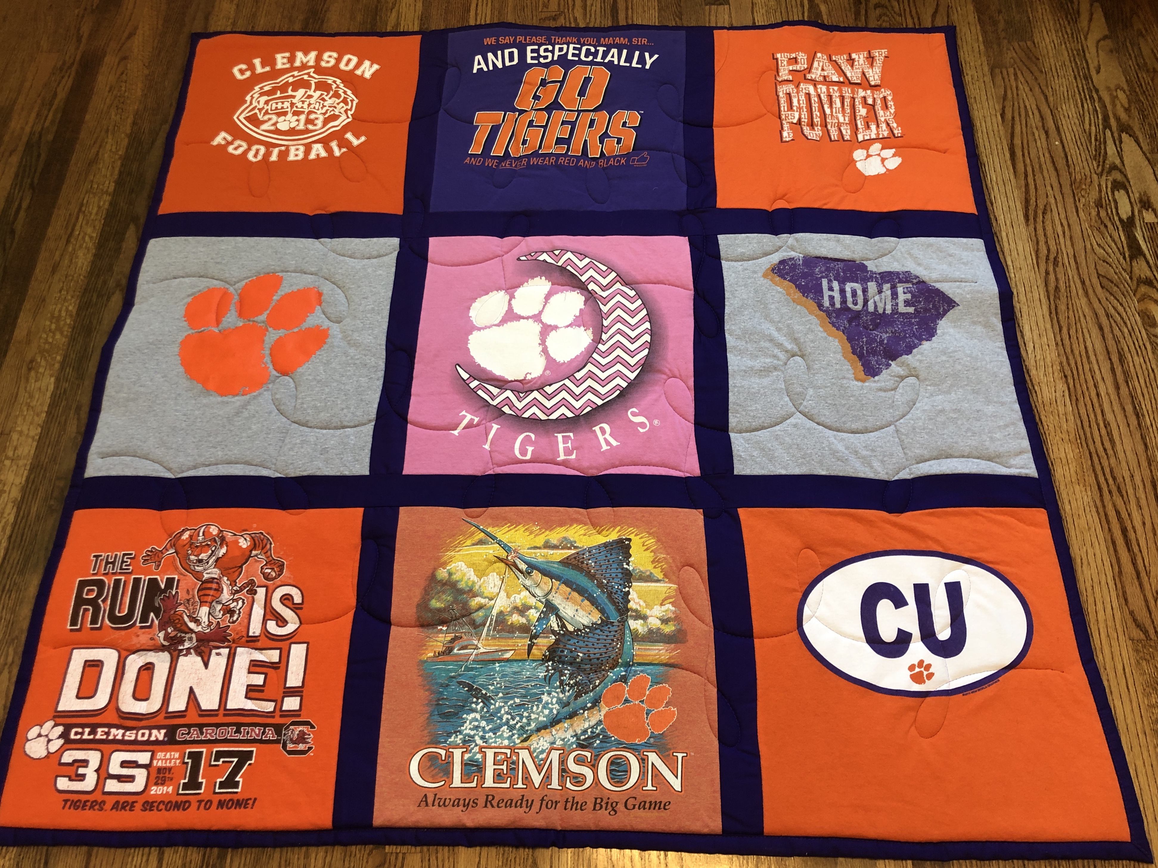 Campus Quilts and EggMoneyQuilts Compared