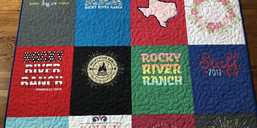 Budget Friendly T-shirt Quilts-a new style